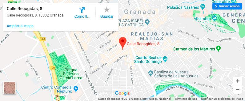 Situación ABESAT Abogados accidentes de tráfico Granada